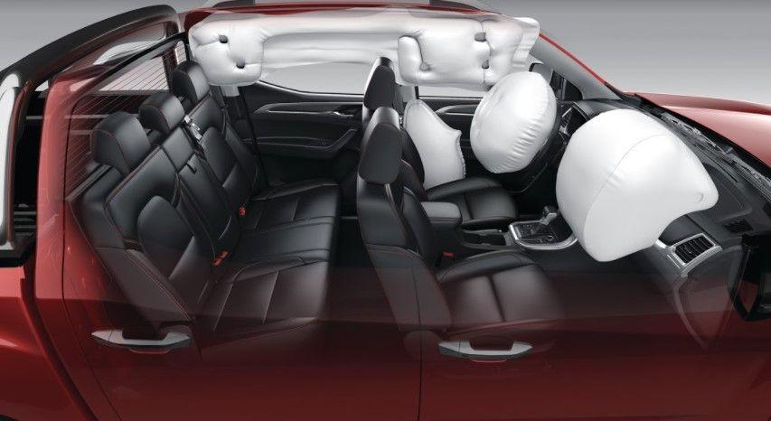 Maxus T60 airbags