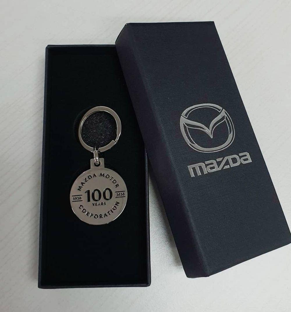 Mazda  100 Years key chain