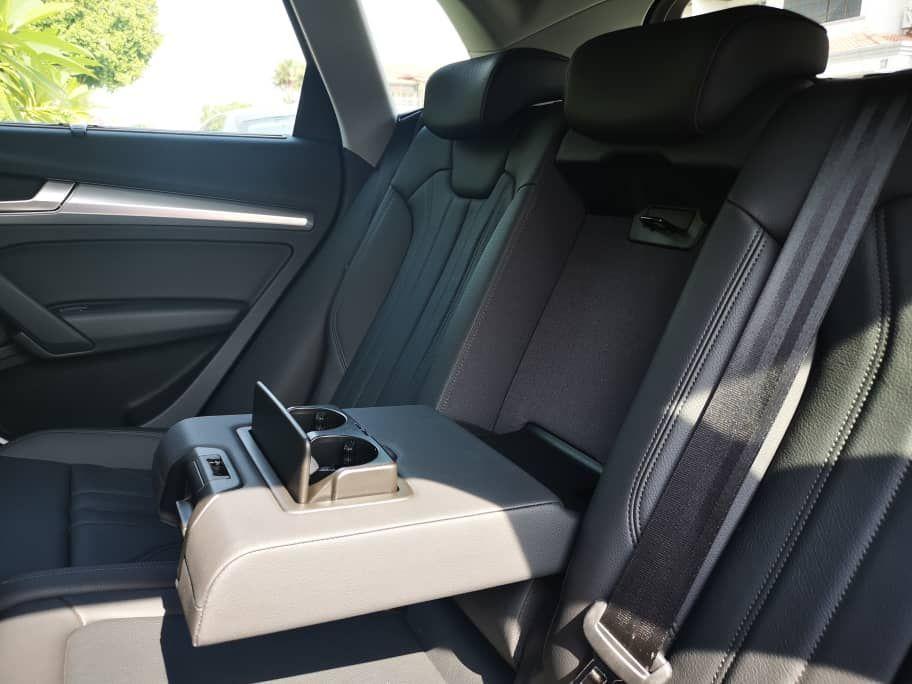 Audi A5 2.0 Rear Seats