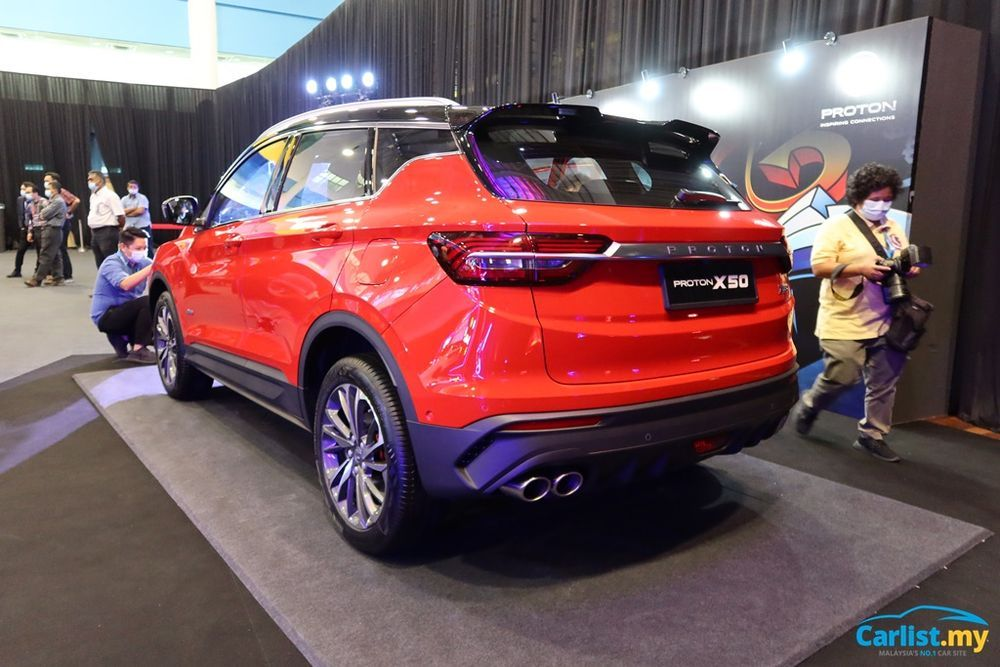 2020 Proton X50 rear