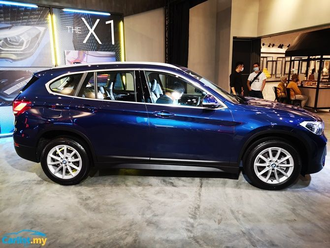BMW Launches X1 sDrive18i Locally RM 208368 Side Profile