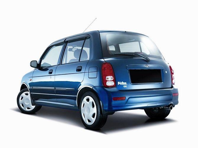 The Best First Car Perodua Kelisa Buying Guide Rear Three Quarter