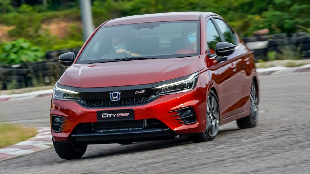 2020 Honda City RS i-MMD - Malaysia Preview