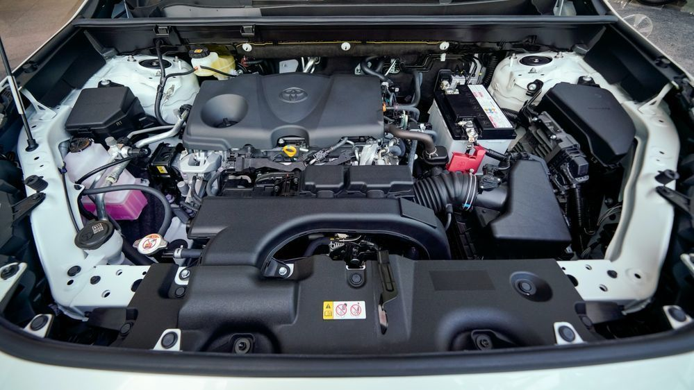 Review: Can These 5 Things Justify the Toyota RAV4's Price Tag? RAV4 engine