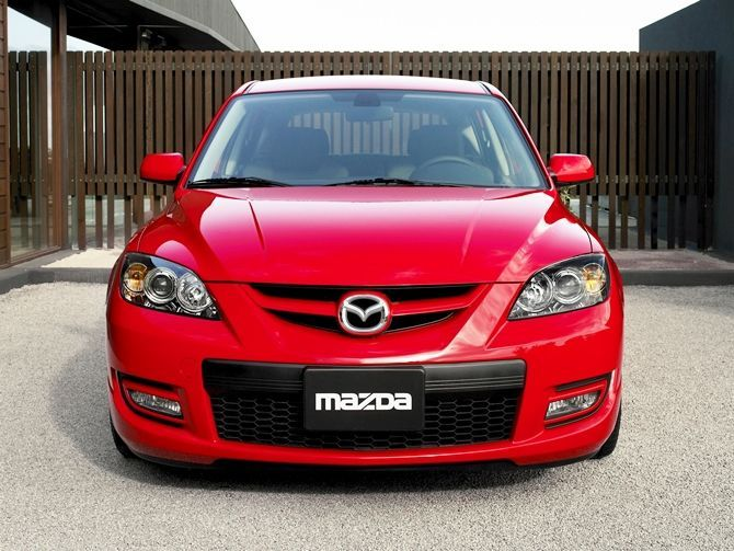The Mazda 3 MPS Is Coming Back At Least In The USA Front View