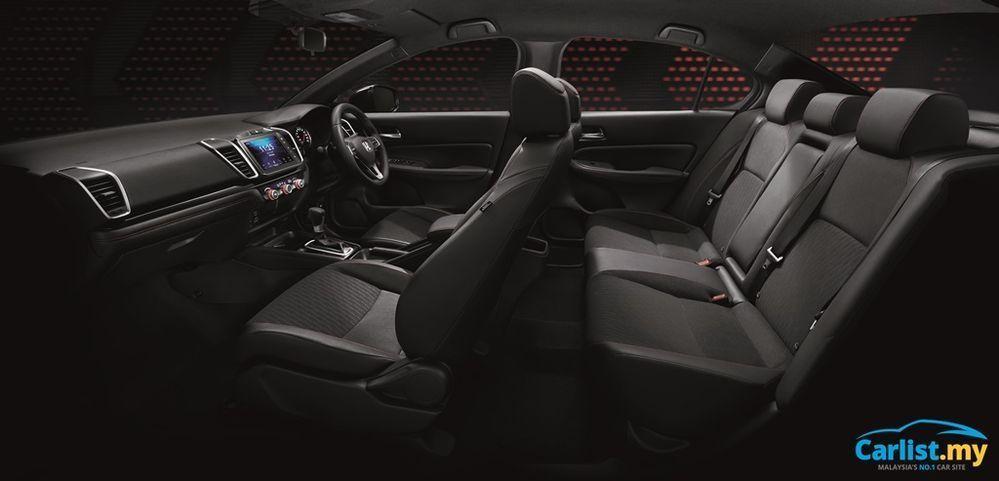 Honda City 2020 Interior