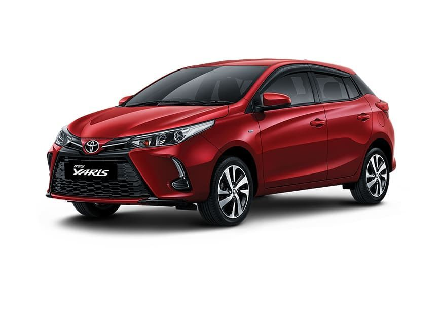 2021 Toyota Yaris Front View