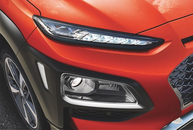 The Hyundai Kona Is Coming Here In Q4 2020 headlight