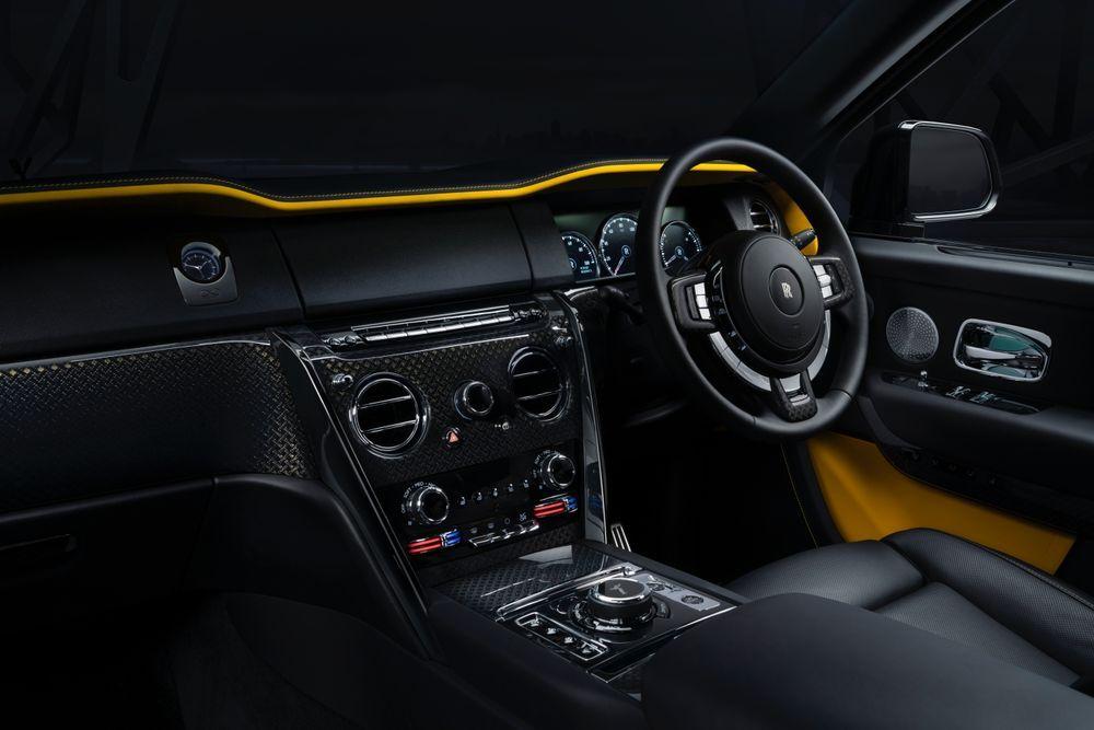 2020 Rolls Royce Cullinan - interior