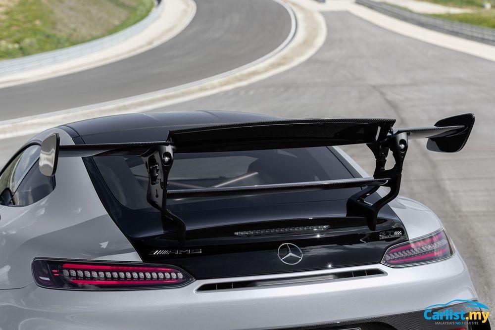 C190 Mercedes-AMG GT Black Series 2-piece wing