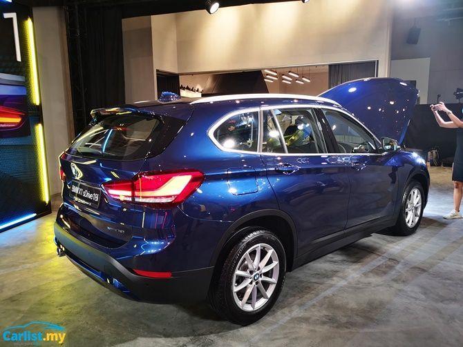 BMW Launches X1 sDrive18i Locally RM 208368 Rear Three Quarter