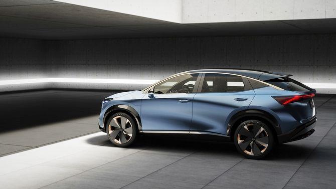 The Ariya Is Nissans Next Big Step For Their EVs Rear Three Quarter