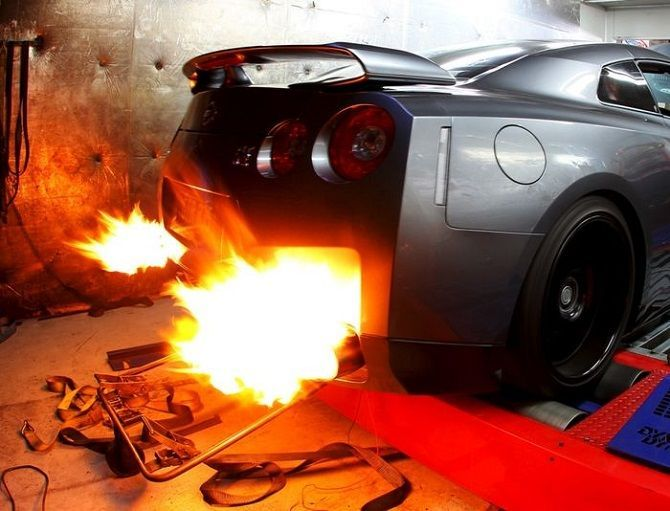 Pops And Bangs Will Break Your Engine R35