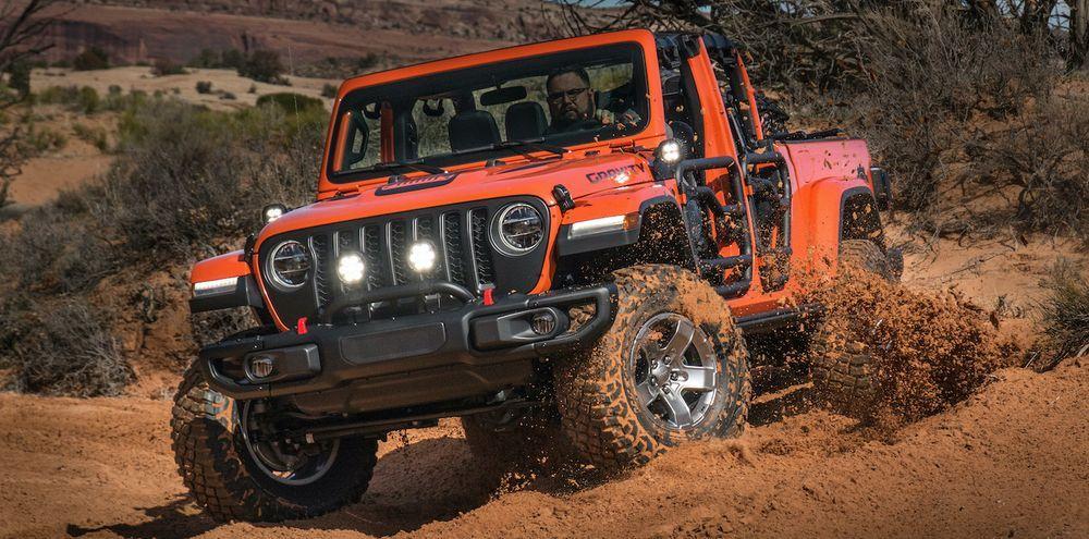 Jeep MOAB Wrangler Concept