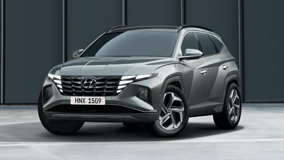 2021 Hyundai Tucson Front Three Quarter