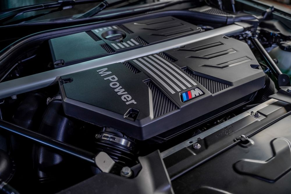 bmw x3m competition engine