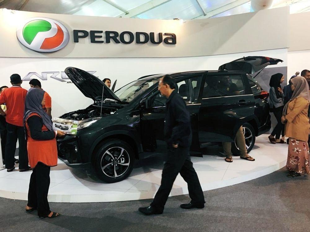 2018 Perodua Aruz