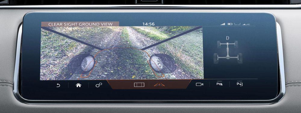 Clearsight ground Range Rover Evoque