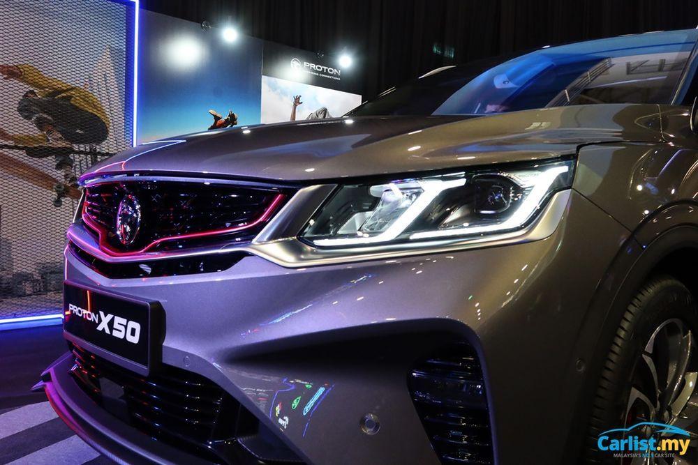 2020 Proton X50 Headlight