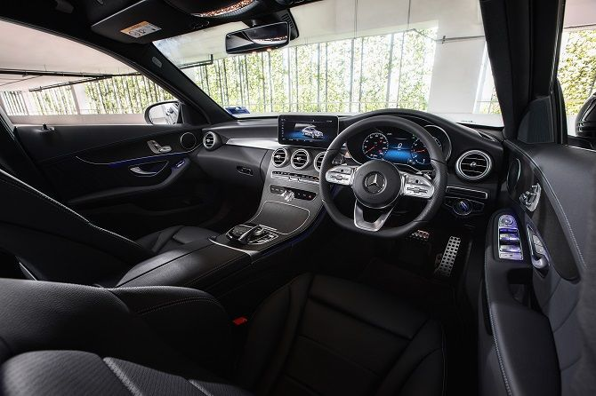 Mercedes Benz Malaysia Launches C 200 AMG Line RM 252k Interior