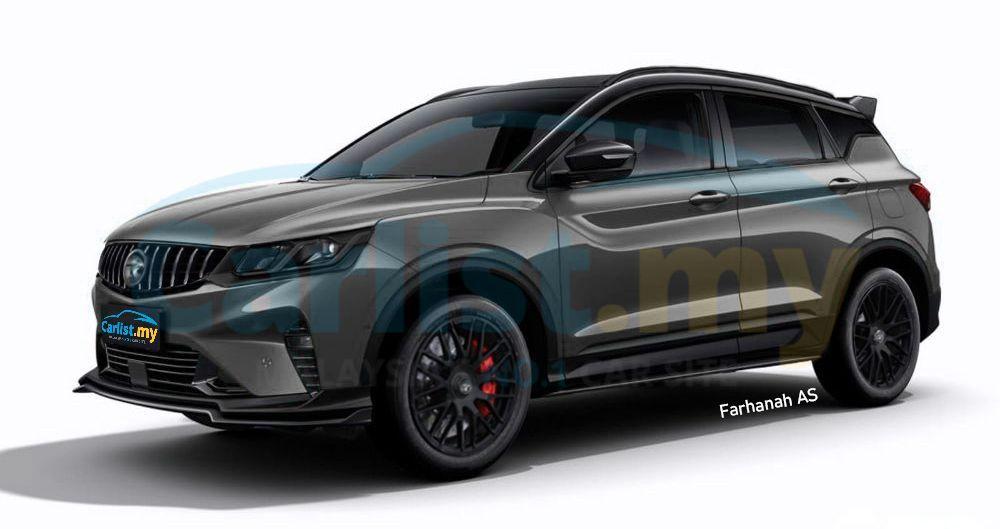 2020 Proton X50 Midnight Edition