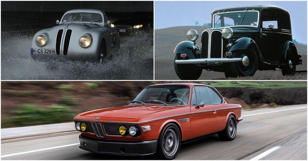 BMW thirties car