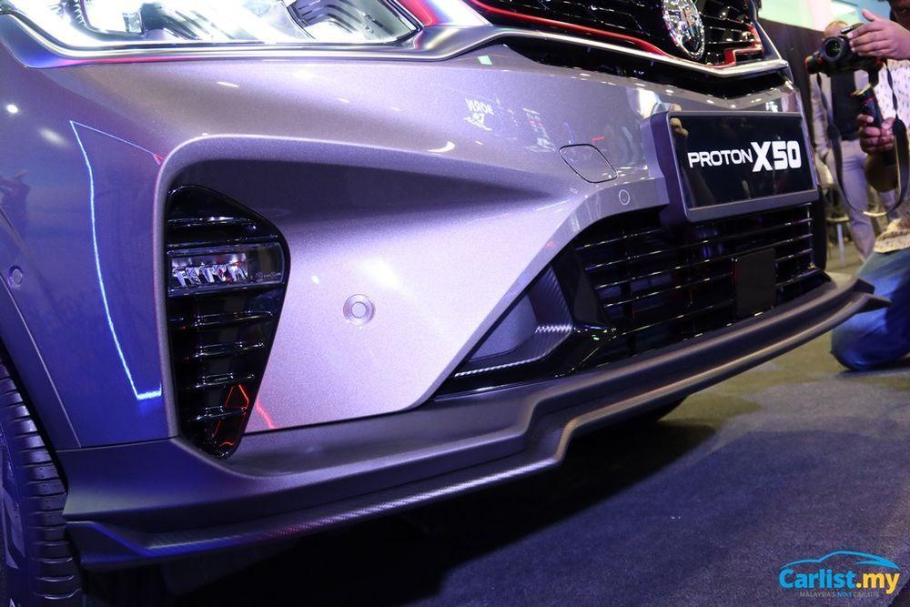 2020 Proton X50 lower bumper