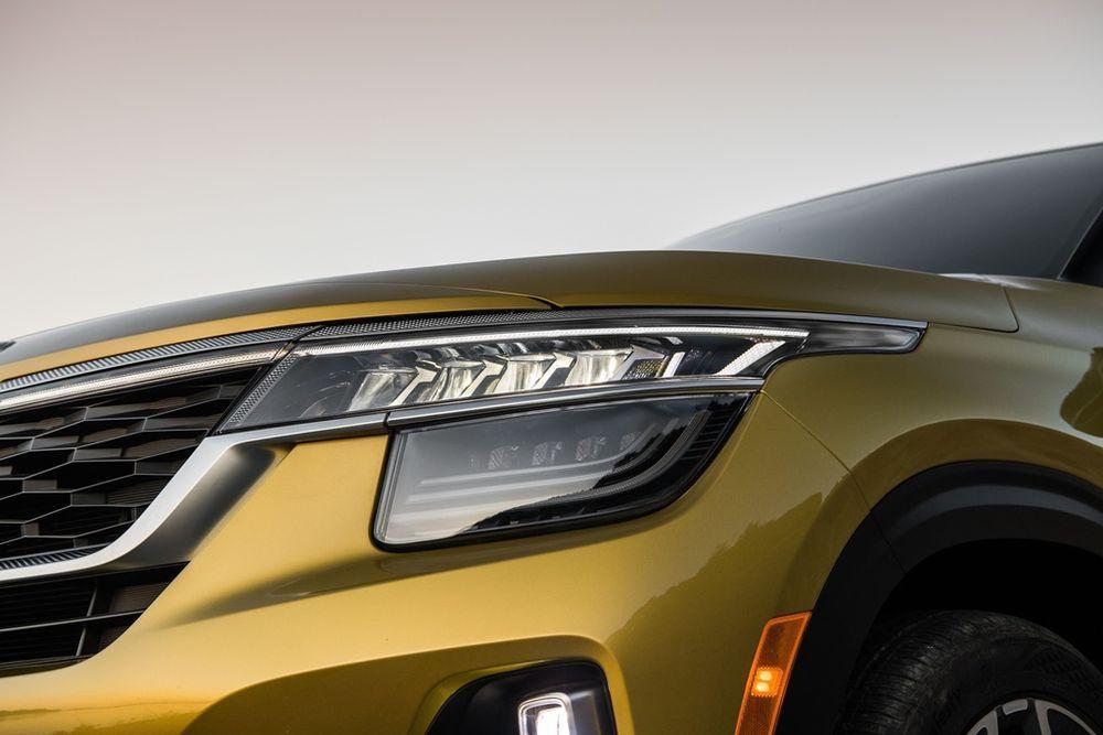 2020 Kia Seltos 1.6L MPI Headlights