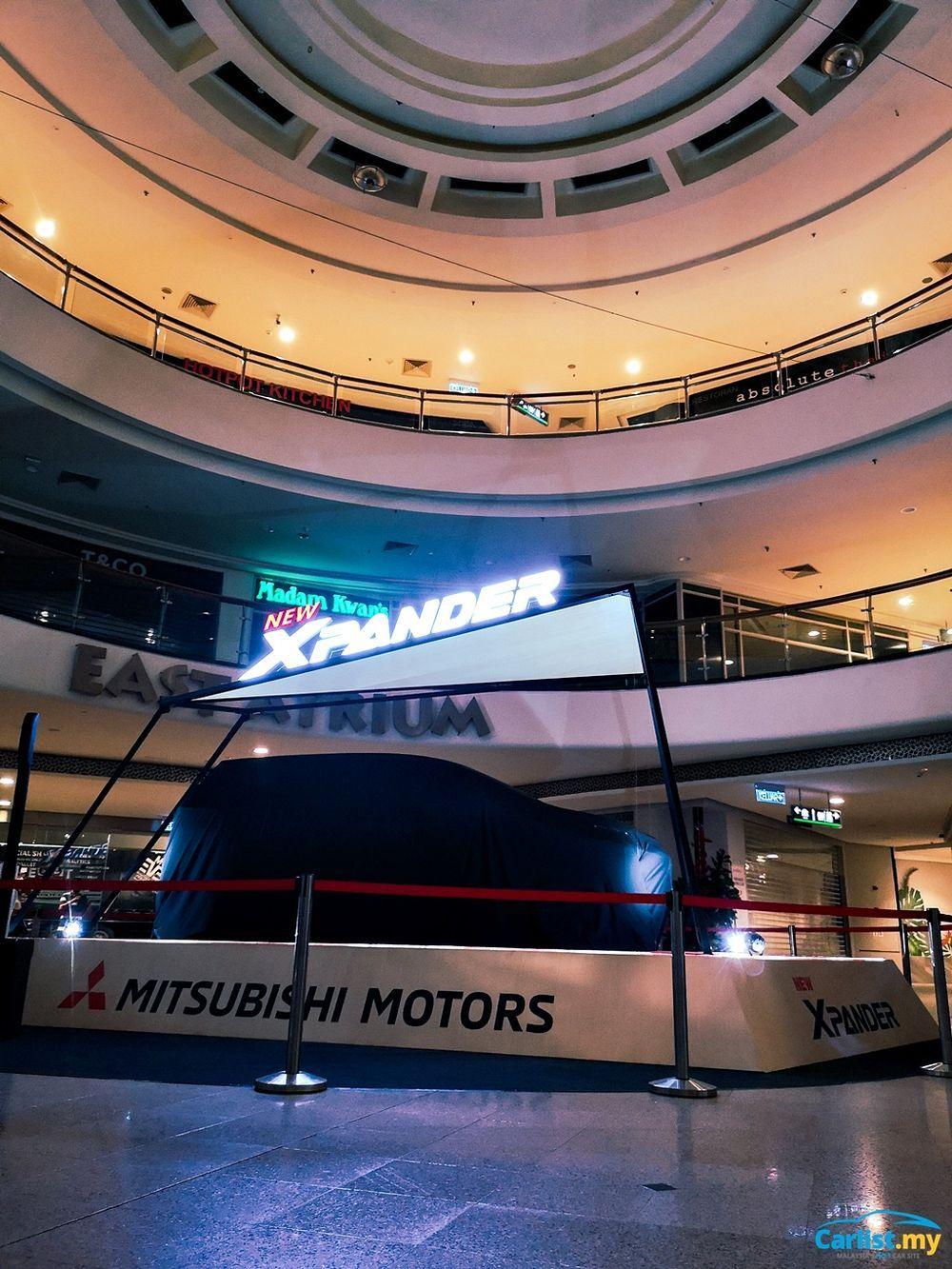 2020 Mitsubishi XPander Teased