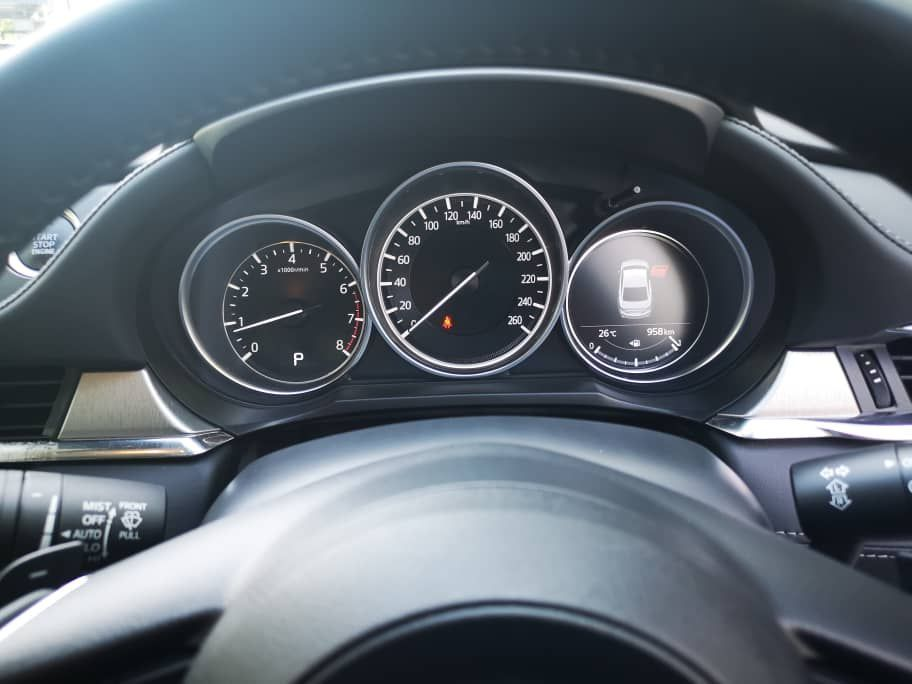 2020 Mazda 6 2.5L instrument cluster