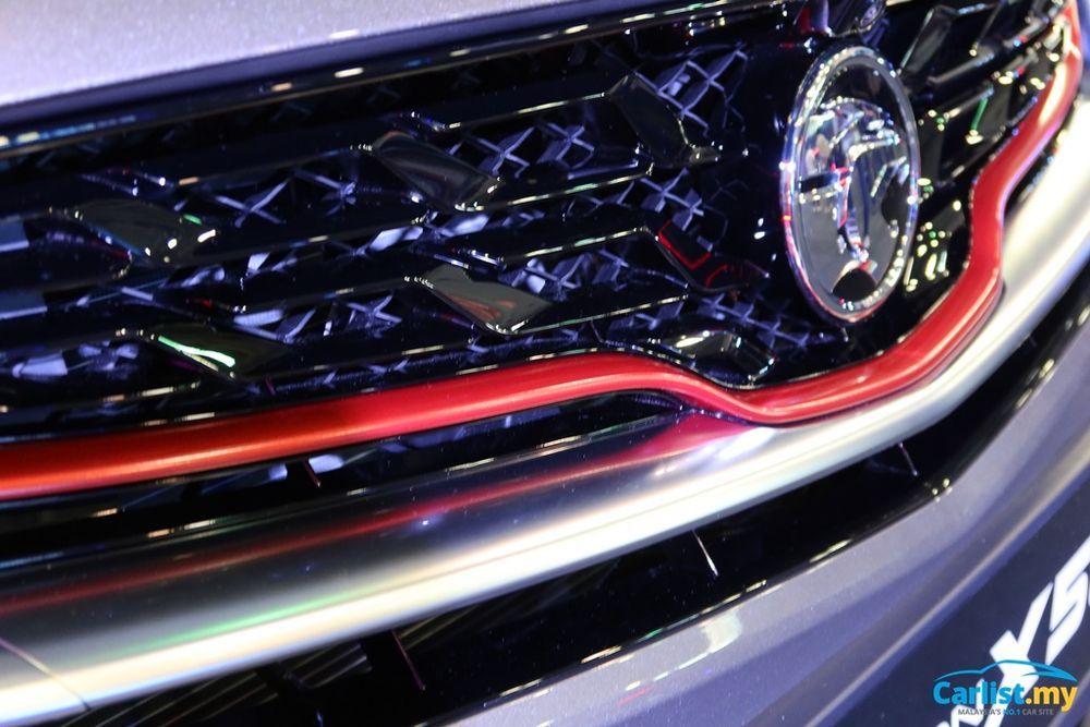 2020 Proton X50 front grille