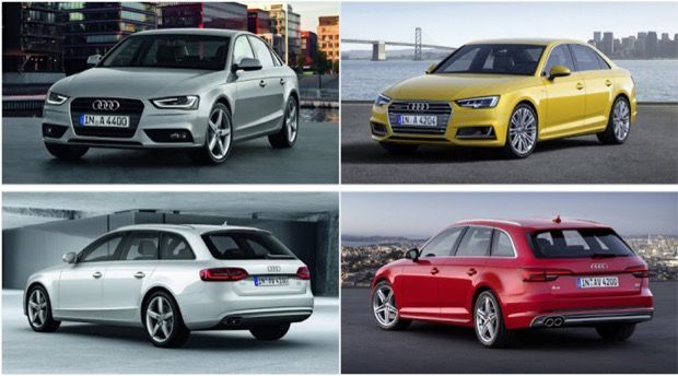 audi a4 b8 facelift differences