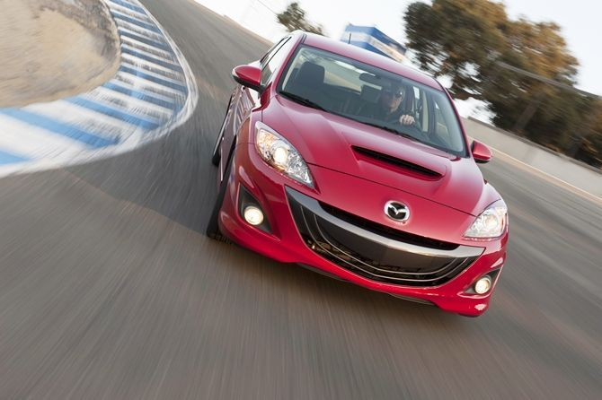 The Mazda 3 MPS Is Coming Back At Least In The USA Front Three Quarter
