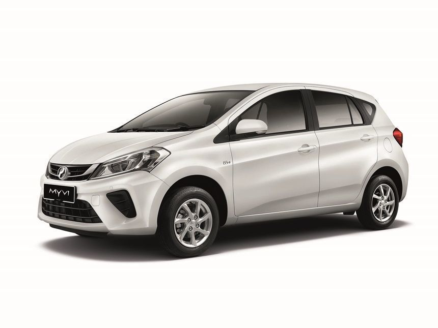 Perodua Myvi Price Drop: Which Variant to buy? Myvi White Exterior