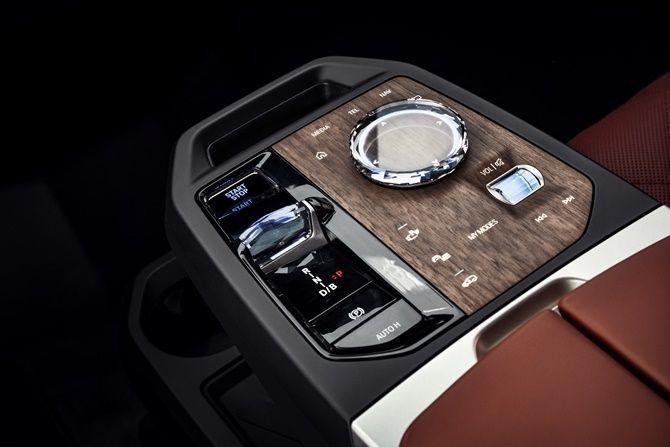 2021 BMW iX Next Gear Selector