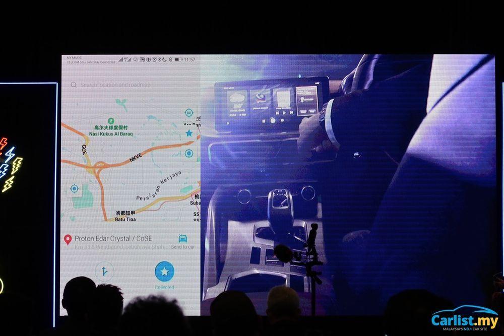 2020 Proton X50 Infotainment Proton link app