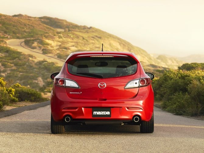 The Mazda 3 MPS Is Coming Back At Least In The USA Back View