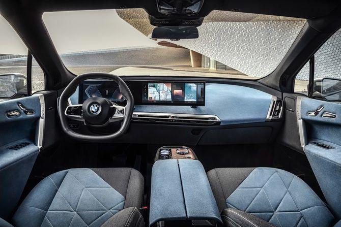 2021 BMW iX Next Interior
