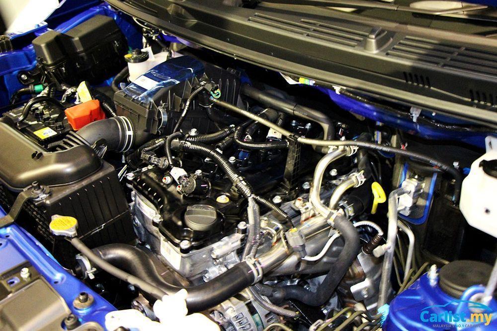 perodua aruz engine