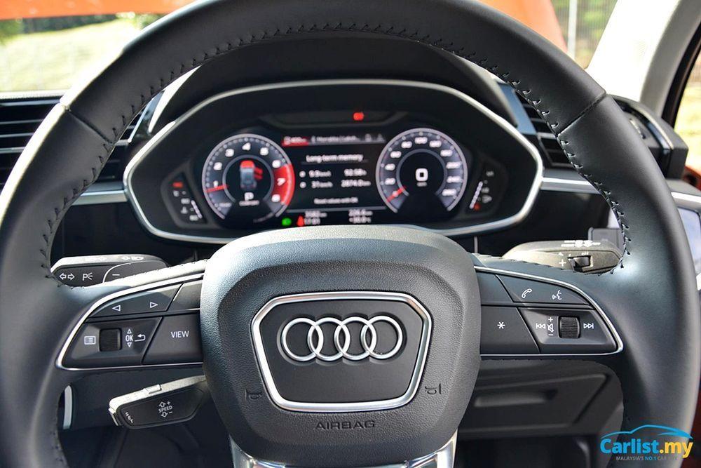 2020 Audi Q3 1.4L TFSI Instrument Cluster