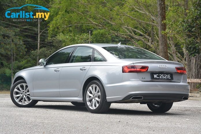 2015 Audi A6 (C7) Facelift Exterior