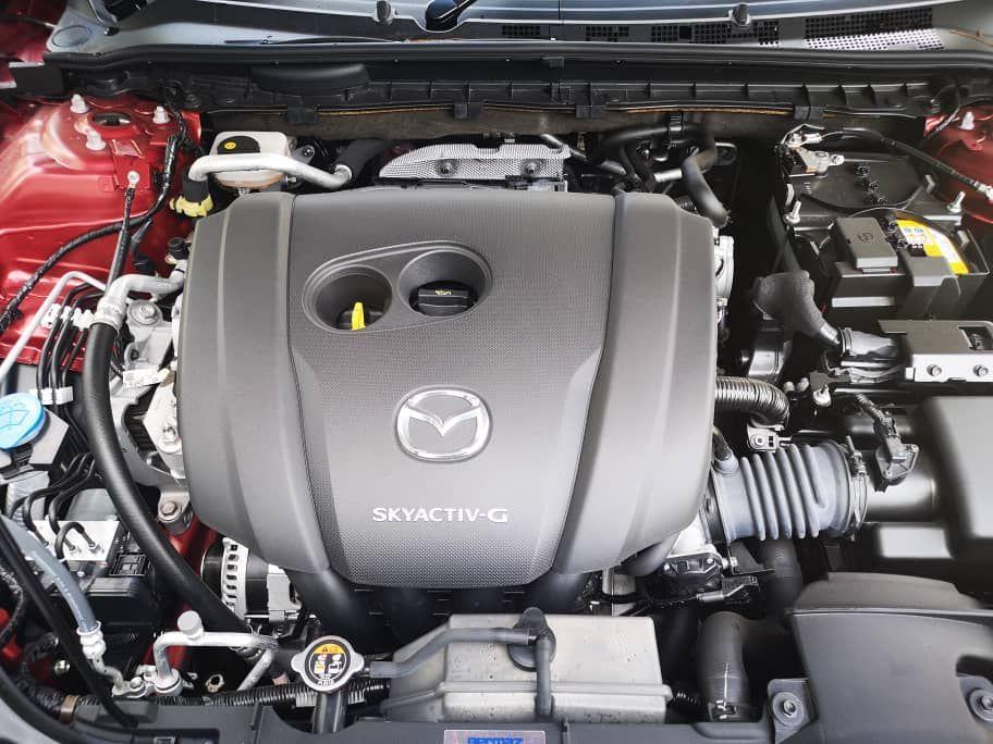 2020 Mazda 6 2.5L Skyactiv-G engine