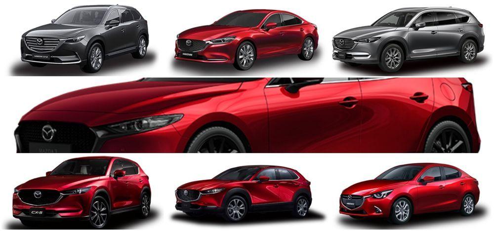 Mazda lineup Malaysia