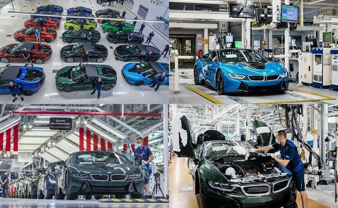 18 Colours For The End Of The BMW i8 Collage 2