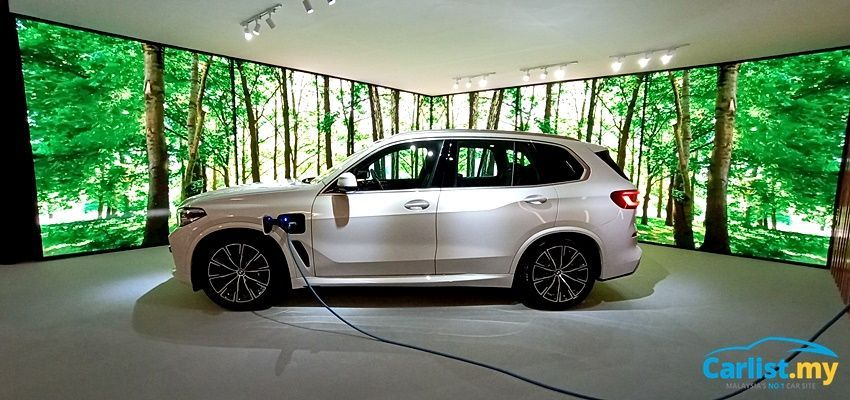 BMW X5 xDrive45e M Sport Exterior