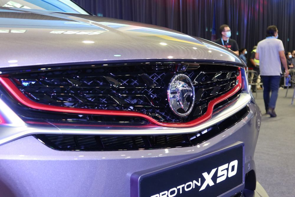 Is There A Way To Get Your Proton X50 Faster We Find Out Front Grille