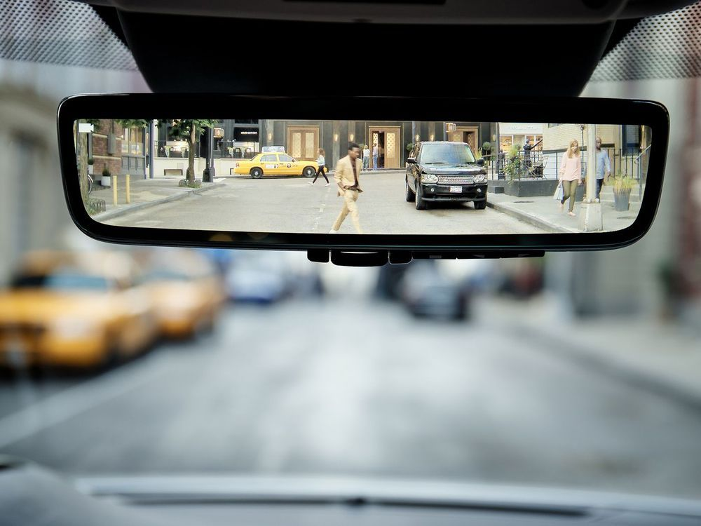 ClearSight rear view mirror