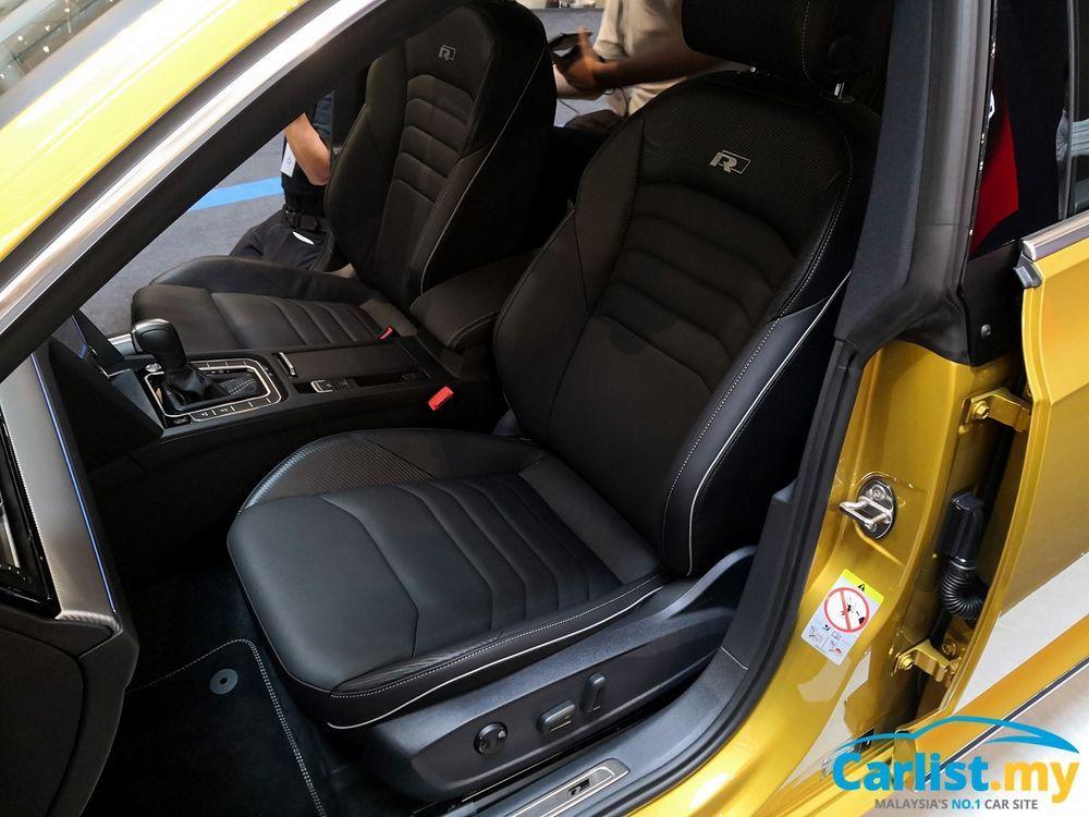 volkswagen arteon seats