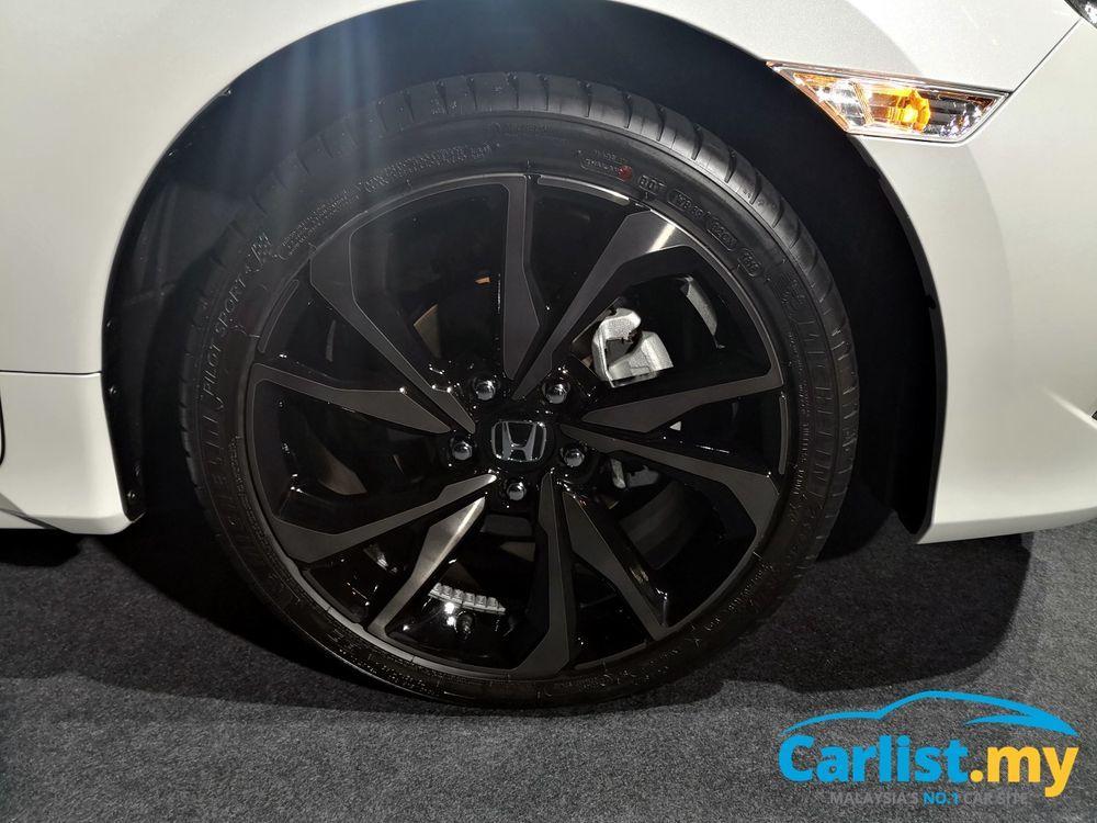 Honda civic is king of C-Segment Civic Launch Rims