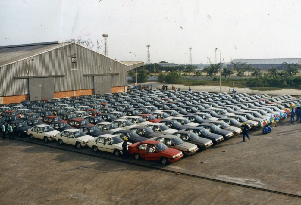 Proton to celebrate saga 35th birthday old saga
